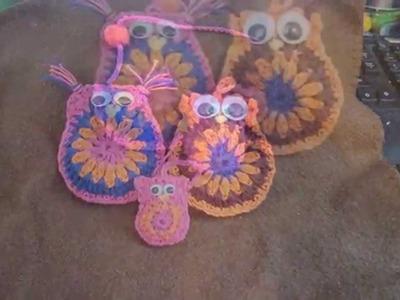 Uiltje haken . crochet  owl