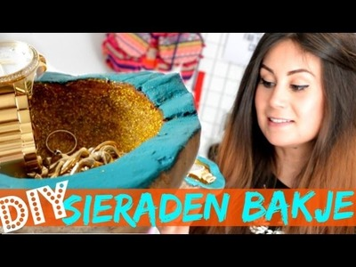DIY Gouden Sieraden Bakje