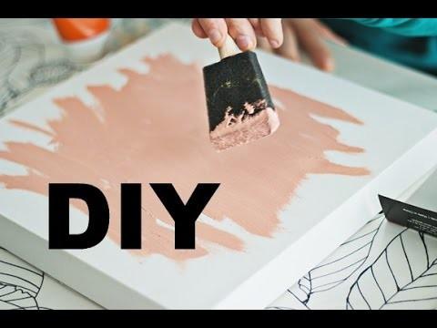 DIY schilderij maken || tutorial by sarah