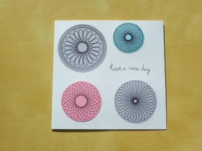 DIY Spirograph Card