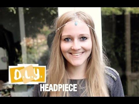 Fashionista DIY - Headpiece