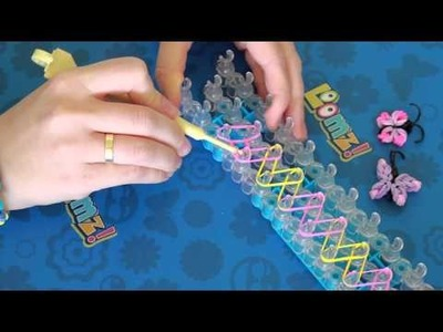 Loomz.nl - Single Chain Basis Armband - Rainbow Loom Nederlands