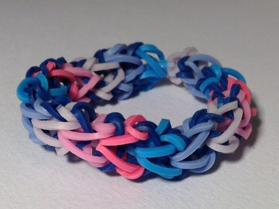 Rainbow loom Nederlands, Dragon bone armband