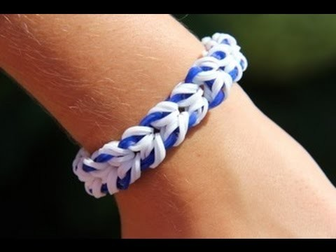 Rainbow Loom Nederlands - Miami Bracelet (Original Design) Loom bands