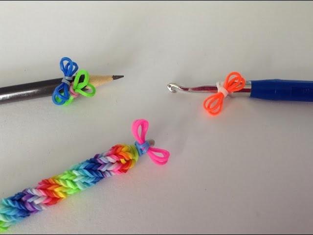Rainbow loom Nederlands, mini strikje