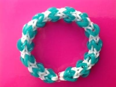 Rainbow Loom Nederlands, Pompon armband (pompoen armband :-) loom