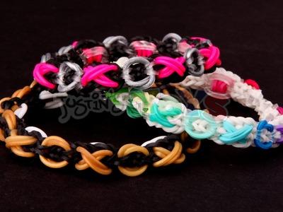 Rainbow Loom Nederlands, XOXO armband