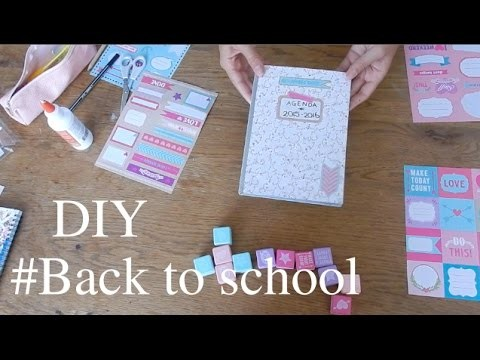 DIY #BACK TO SCHOOL ~ DEMI FOR BEAUTY (schriften, agenda)
