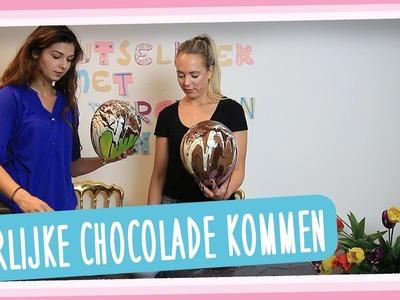DIY Chocolade kommen maken - GirlsOnCatwalk