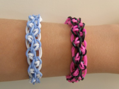 Rainbow Loom Nederlands, Clarissa Armband. Clarissa Bracelet