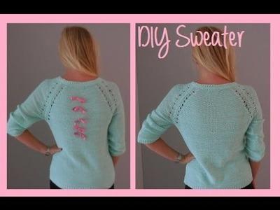 DIY Oude trui omtoveren!