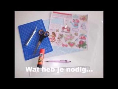 DIY Pocket letter maken
