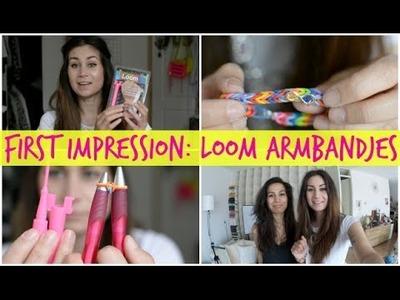 First Impression: Loom armbandjes maken!