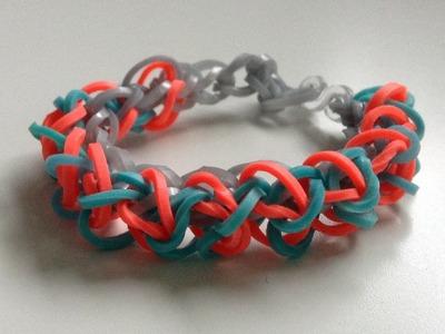 Rainbow loom Nederlands, Inverted whirl armband