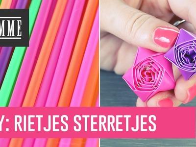 DIY: rietjes sterretjes - FEMME