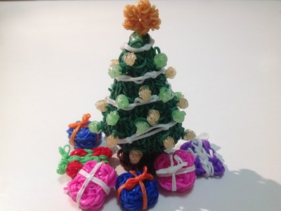 Rainbow Loom Nederlands, 3d kerstboom, deel 2