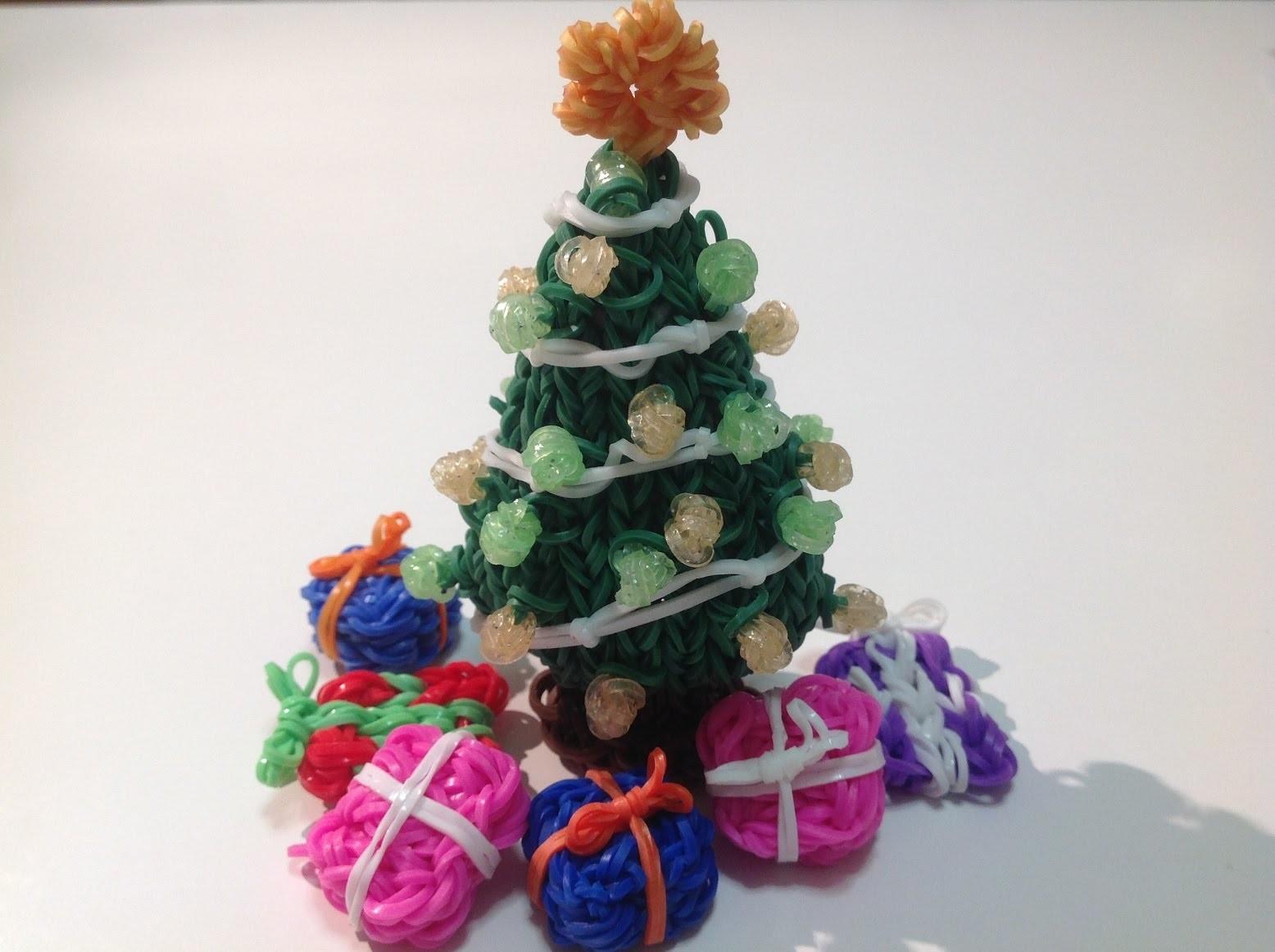 Rainbow Loom Nederlands, 3d kerstboom, deel 2