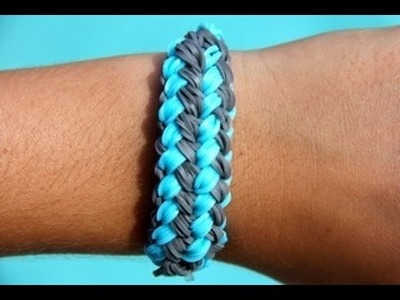 Rainbow Loom Nederlands - Checkerboard Bracelet - Loom bands