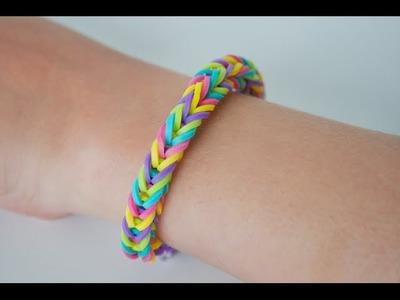 Rainbow Loom (Nederlands) - Visgraat armband