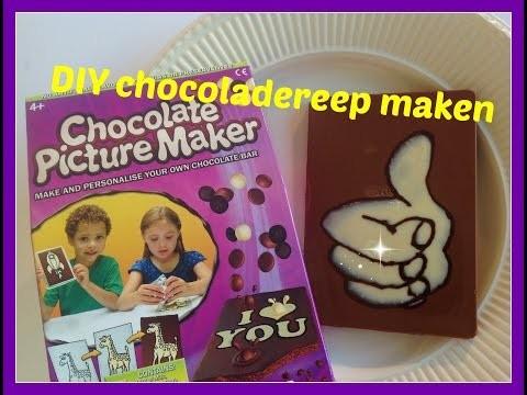 DIY: Chocolate Picture Maker van Jamin
