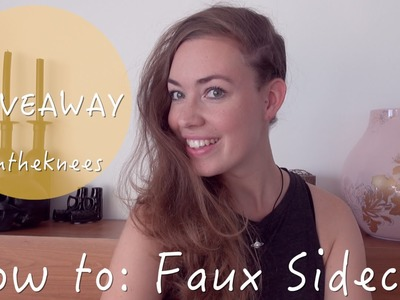 How to: Faux Sidecut + GIVEAWAY(gesloten) | ♥ iamtheknees