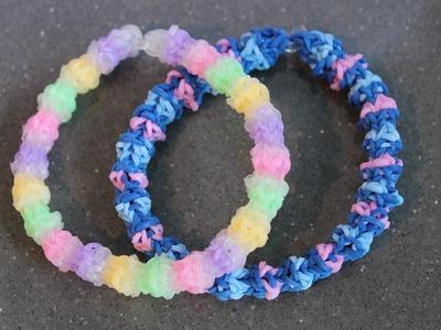Rainbow Loom Nederlands, gumdrop armband, monstertail en loom