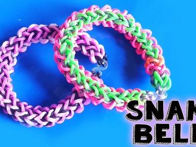 ♥ Rainbow Loom SNAKE BELLY ♥ Nederlands op de Rainbow Loom ♥ Slangen armband