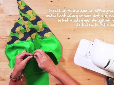 DIY: maak deze exotische tas