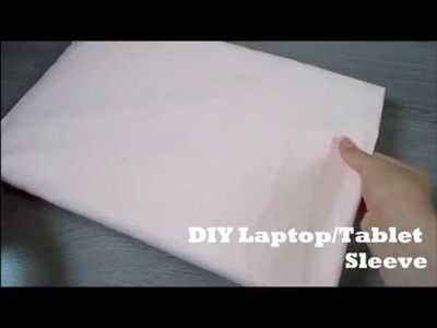 [Easy] DIY || Laptop.Tablet sleeve