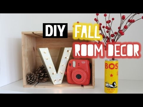 DIY Herfst room decor