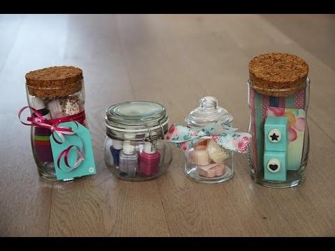 Inspiratie voor cadeautjes in een pot! DIY - Simpel - Snel - Budget - Cadeaus maken