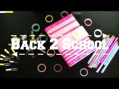 4 DIY ideeën met Washitape - Back 2 School | Shoppingsarah