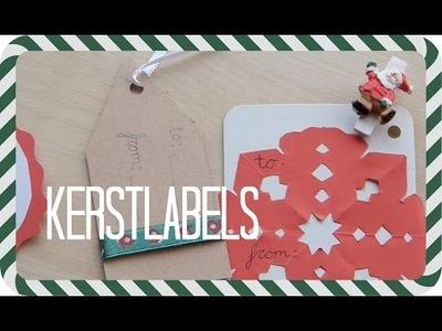 DIY Kerstlabels - ☆Kerstspecials☆