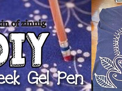 DIY Bleek Gel Pen Voor Shirt Deco ONZIN OF ZINNIG