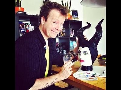 DIY: Creatief met papier mache: Het maken van Maleficent