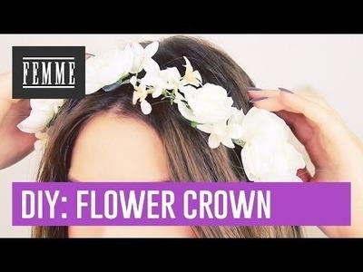 DIY: Flower Crown - FEMME