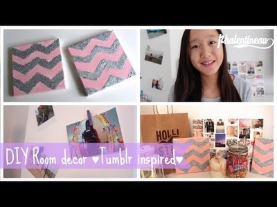 DIY Room decor ♥Tumblr inspired♥