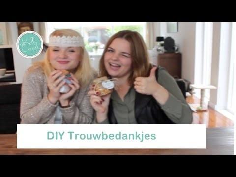 DIY zelf trouwbedankjes maken   |   Kelly caresse