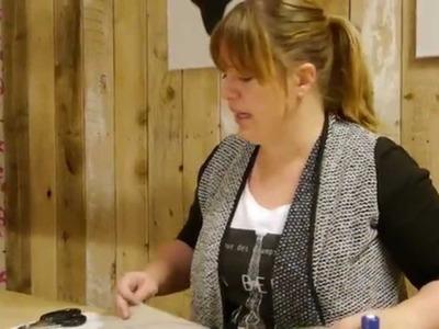 DIY Donut kussen. Tenminste dat moet het zijn ;)