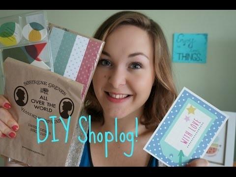 DIY Shoplog - Søstrene Grene, Dille&Kamille, IKEA