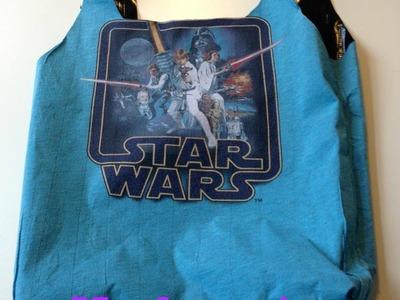 DIY tas van een T-shirt