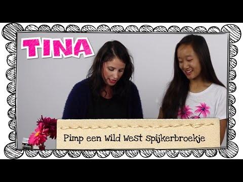 Pimp een Wild West spijkerbroekje met Iris Hesseling en Tina's DIY-vlogger Valentine