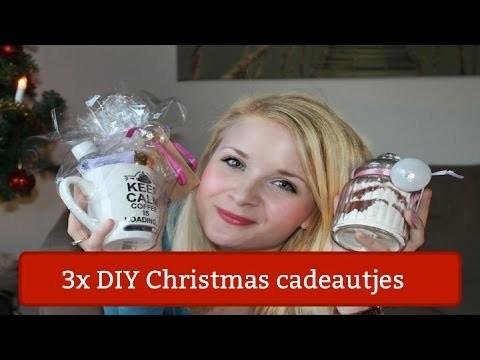 3x kerst cadeautjes DIY |  Budget | Crazy christmas collab | Kelly caresse