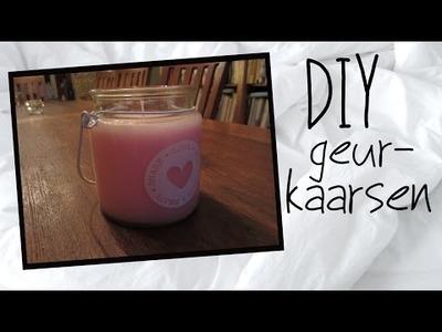 DIY Geurkaarsen! | BartenElske