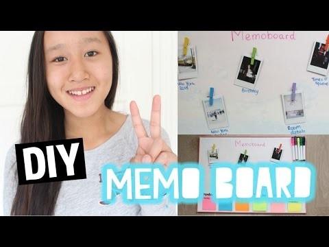 DIY Memo board | Back To School