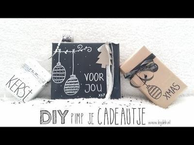 DIY Pimp je cadeautje met krijtstift