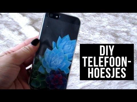 DIY Telefoonhoesjes!! ♥ || SAAR