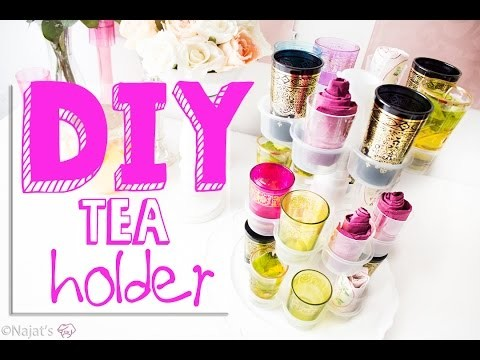 Najat's Keuken: DIY How to make a tea holder
