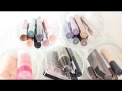 DIY glazen make-up opberger door The Life Factory