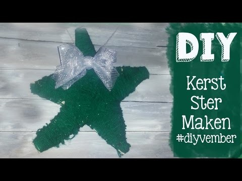 ✿ DIY Kerst Ster Krans Zelf Maken ✿ DIYVEMBER ✿ Dag 19